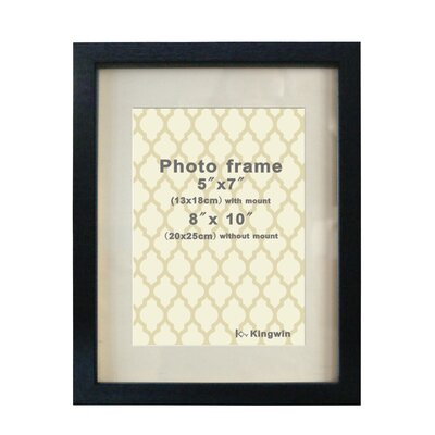 Picture Frame Color: Black WF1072BK-80