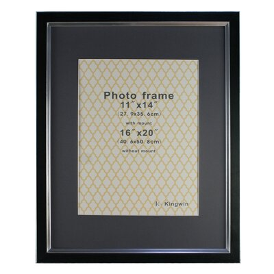 Picture Frame Color: Black PF31006BK-1620