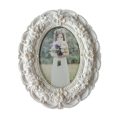 Resin Baroque Photo Frame RF14002WH