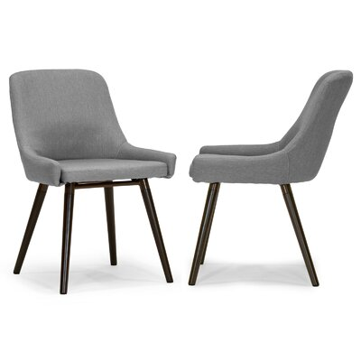 Ade Side Chair Upholstery: Gray