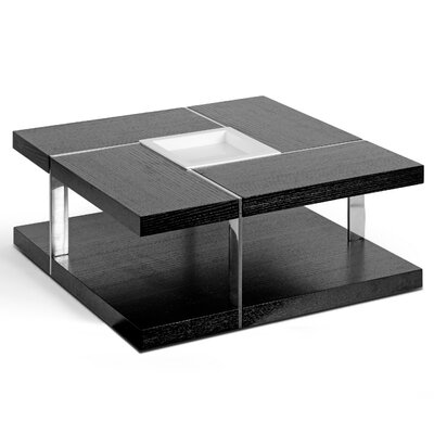 Aira Square Coffee Table with Tray Top