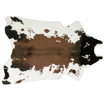 Armor Brown/White Area Rug