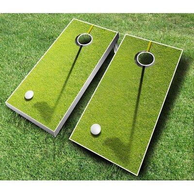 10 Piece Golf Cornhole Set 107 - Golf - red/orange