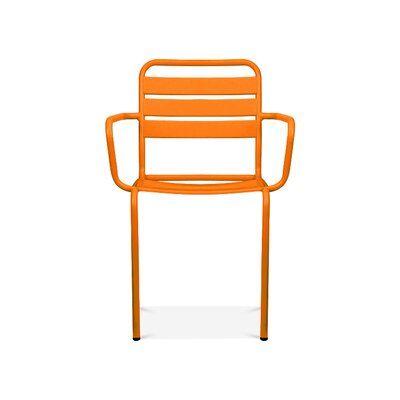Paris Arm Chair Finish: Glossy Orange