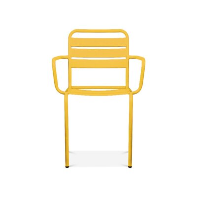Paris Arm Chair Finish: Glossy Yellow