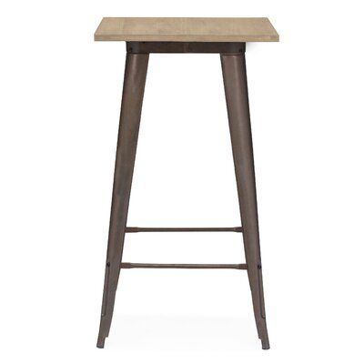 Halie Pub Table Color: Rustic Matte