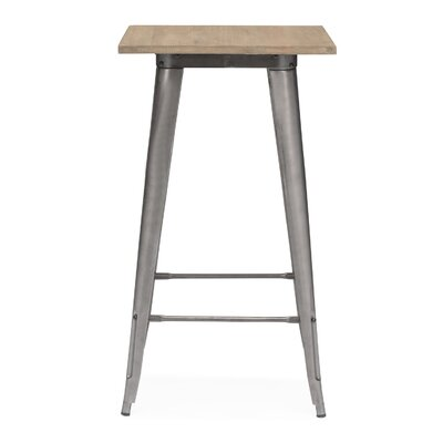 Halie Pub Table Finish: Gunmetal