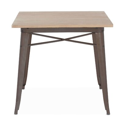 Halie Pub Table Finish: Rustic Matte