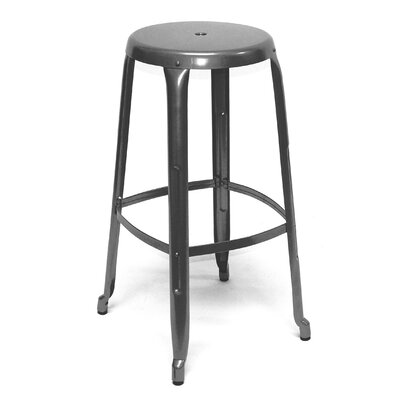 Austin 30 Bar Stool Finish: Gunmetal