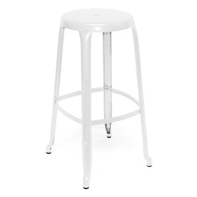 Austin 30 Bar Stool Finish: White