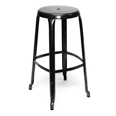Austin 30 Bar Stool Finish: Black