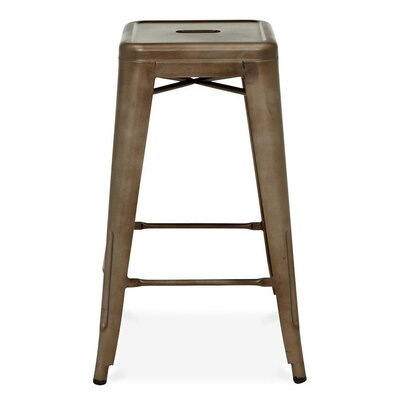Halie 26 inch Bar Stool Finish: Rustic Matte