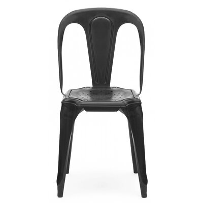 Side Chair Finish: Matte Black
