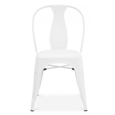 Side Chair Finish: Glossy White