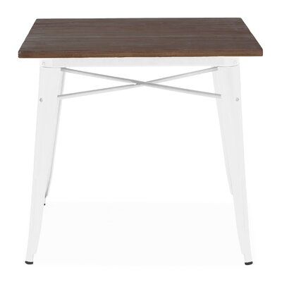 Halie Dining Table Base Finish: Glossy White