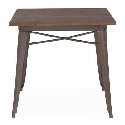 Halie Dining Table Base Finish: Rustic Matte