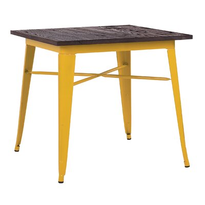 Halie Dining Table Base Finish: Glossy Yellow