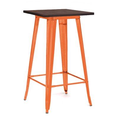 Halie Pub Table Finish: Glossy Orange