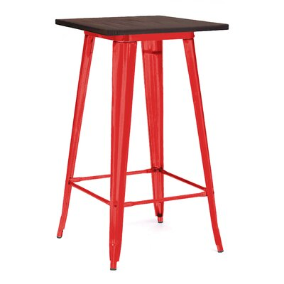 Halie Pub Table Finish: Glossy Red