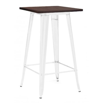 Halie Pub Table Finish: Glossy White