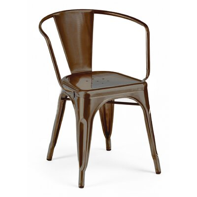 Halie Dining Chair Color: Rustic Matte
