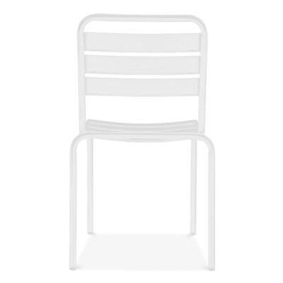 Paris Side Chair Finish: Glossy White
