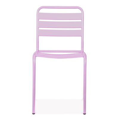 Paris Side Chair Finish: Glossy Lilac