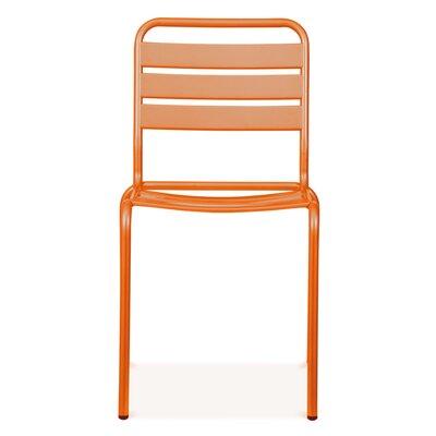 Paris Side Chair Finish: Glossy Orange