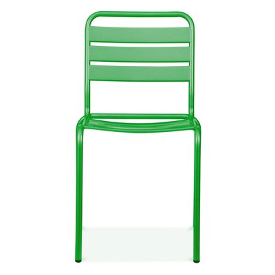 Paris Side Chair Finish: Glossy Green