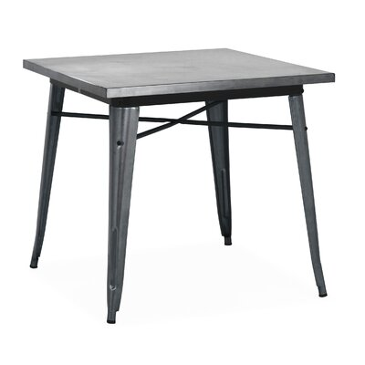 Halie Dining Table Finish: Dark Gunmetal