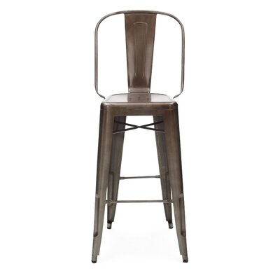 Halie 30 Bar Stool Finish: Rustic Matte