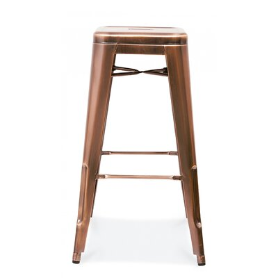 Halie 30 Bar Stool Finish: Vintage Copper