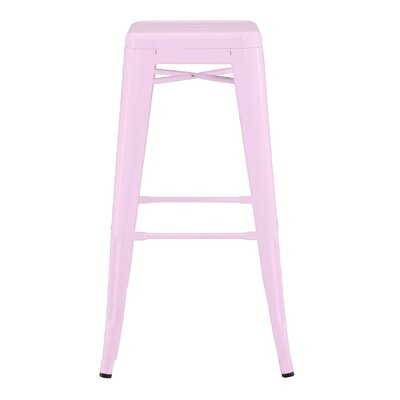 Halie 30 Bar Stool Finish: Glossy Lilac
