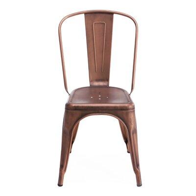 Halie Side Chair Finish: Vintage Copper