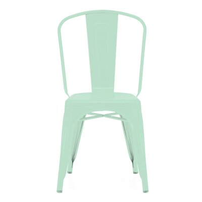 Halie Side Chair Finish: Matte Light Peppermint