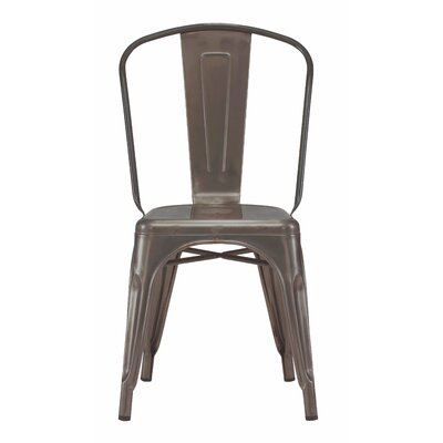 Halie Side Chair Finish: Rustic Matte