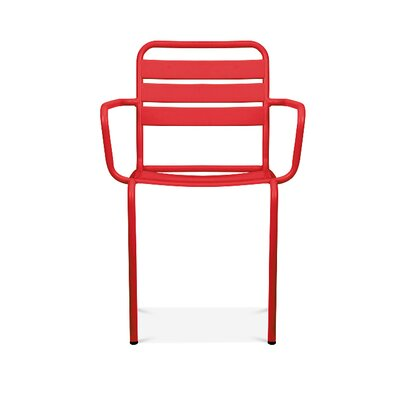 Paris Arm Chair Finish: Glossy Red