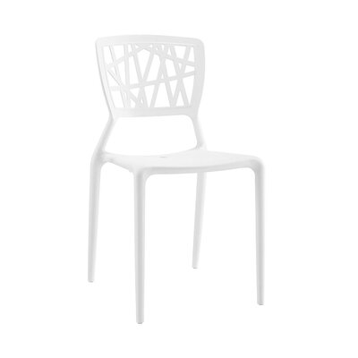 Vocci Side Chair Finish: White
