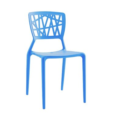 Vocci Side Chair Finish: Blue
