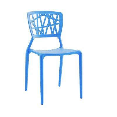 Vocci Side Chair Finish: Blue
