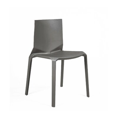 Vector Side Chair Finish: Dark Gray