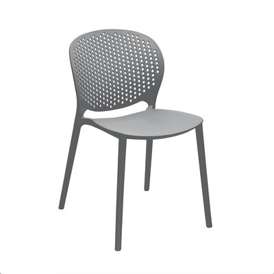 Muut Side Chair Finish: Dark Gray