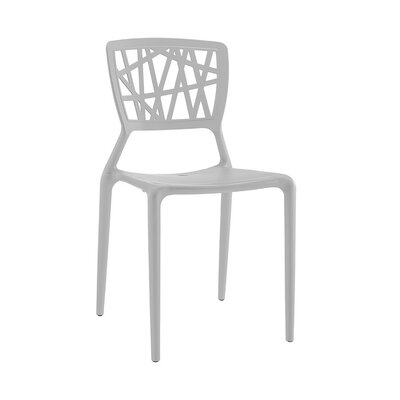 Vocci Side Chair Finish: Platinum