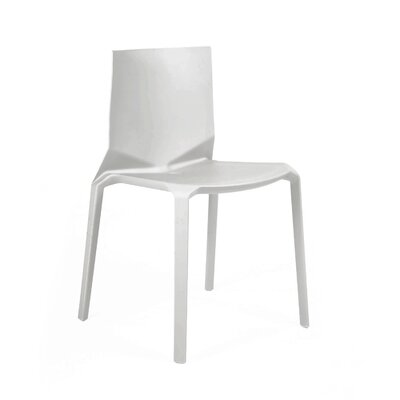 Vector Side Chair Finish: Platinum
