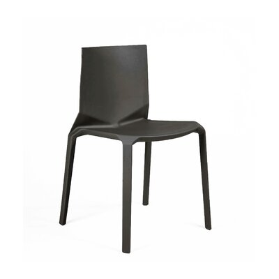 Vector Side Chair Finish: Black