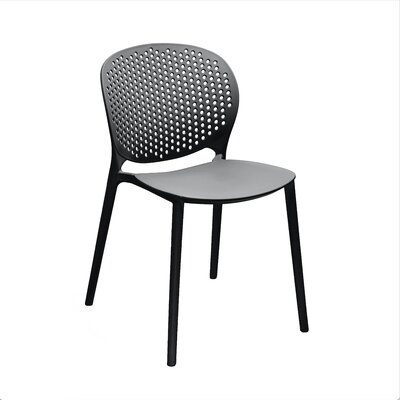 Muut Side Chair Finish: Black