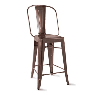 Halie 26 Bar Stool Finish: Rustic Matte