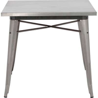 Halie Dining Table Finish: Clear Gunmetal