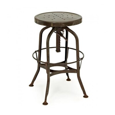Adjustable Height Swivel Bar Stool Finish: Rustic Matte