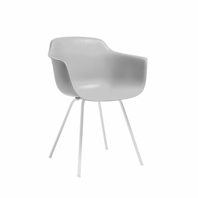 Christophe Mid Century Dining Chair Color: Platinum
